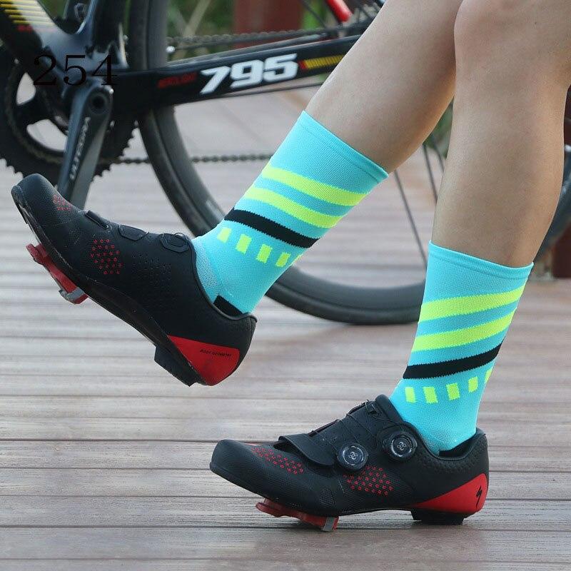 Socks Sports Nylon Cycling Bicycles Running Soccer Basketball Football Men Women