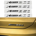 3D стерео стикер для багажника  1-40 шт.  стикер Xdrive 20d 25d 35d 40d 50d  логотип с буквами для BMW X3 E83 F25 X4 F26 X5 E70