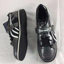 Профессиональная кожаная обувь для тяжелой атлетики, для тренажерного зала, фитнеса, тренировок, нескользящая Тяжелая обувь с подъемом EUR36-45 мужчин и женщин