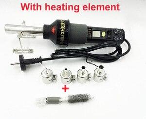 Image 1 - Adjustable Digital Hot Air Gun Heat gun Soldering Desoldering  solder Station SMD BGA 8018LCD+heating element  220V  LCD