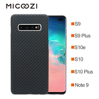 For Samsung Galaxy Note 10 S10e S10 Plus Carbon Fiber Pattern Case Ultra Thin Aramid Fiber Protective Cover For Galaxy S9 Note 9