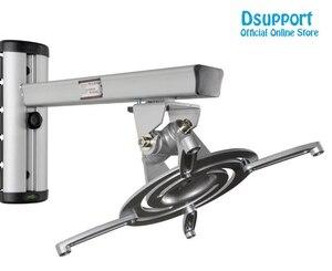 Image 5 - PR03 in Lega di Alluminio 360 Gradi Supporto a Muro per Proiettore Full Motion Retrattile Universale Proiettore Staffa di Supporto