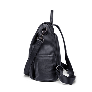 Image 5 - ZOOLER Women Backpack Genuine Leather Fashion Causal Bags Quality Cowskin Female Shoulder Bag Backpacks For Girls High Quality