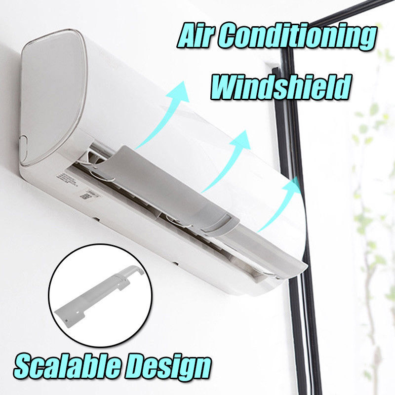 Simple Convenient Air Conditioner Windshield Cold Wind Deflector Retractable Baffle For Home Office Hotel Hogard DC19