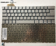 цена FR French Keyboard For Acer S7 S7-391 S7-392 MS2364 Silver Backlit Keyboard FR Layout