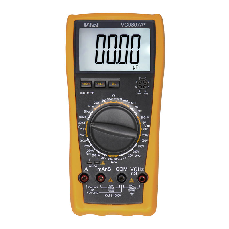 High Frequency Voltmeter : Vici vc a digital multimeter multimetro ac dc ammeter