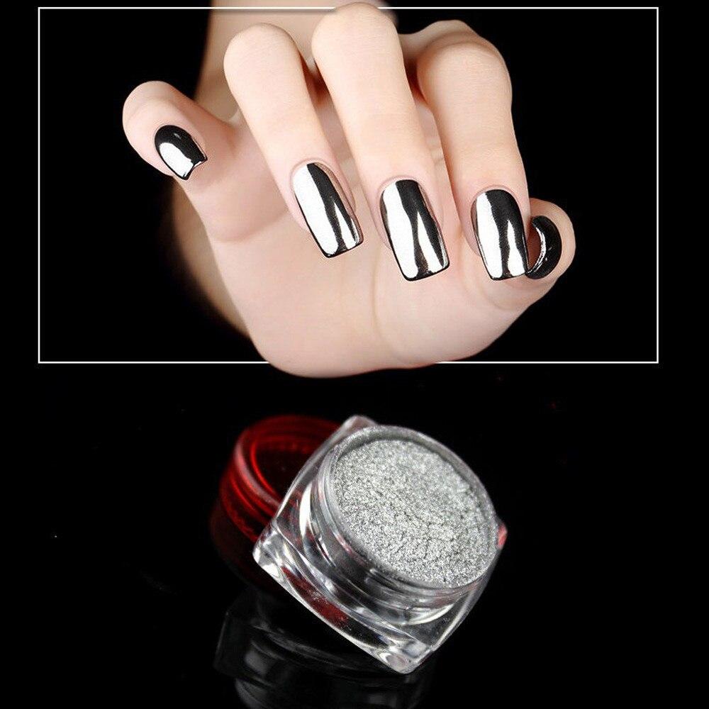 Kobiety Nail Art Diy Design Profesjonalne Lustrzane Paznokcie