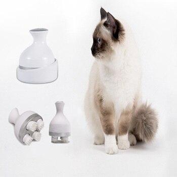Pet Gato Inteligente De Carregamento Cabe a Massager Massageador 3D Gatos Garra Drag o Han Rota