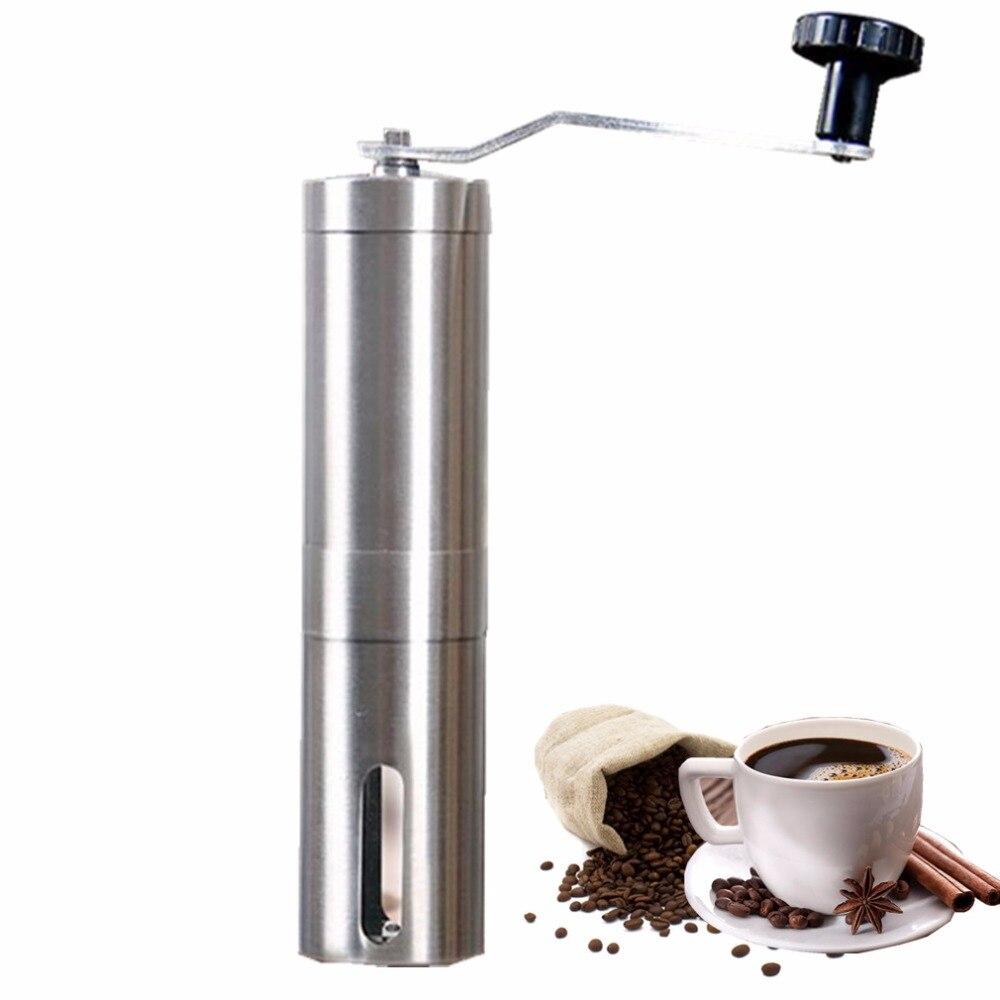 Manuelle Kaffeemühle Hand Stahl Keramik Core Kaffee Schleifen Hand Mühle Cafe Grat Mühle Ceramic Corn Kaffeemaschine