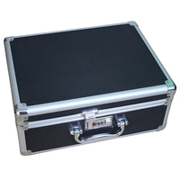 Multi Repair Tool Box Home Storage Toolbox Aluminium Alloy Tool Box Code Lockable Suitcase Diamond Pattern Travel Case