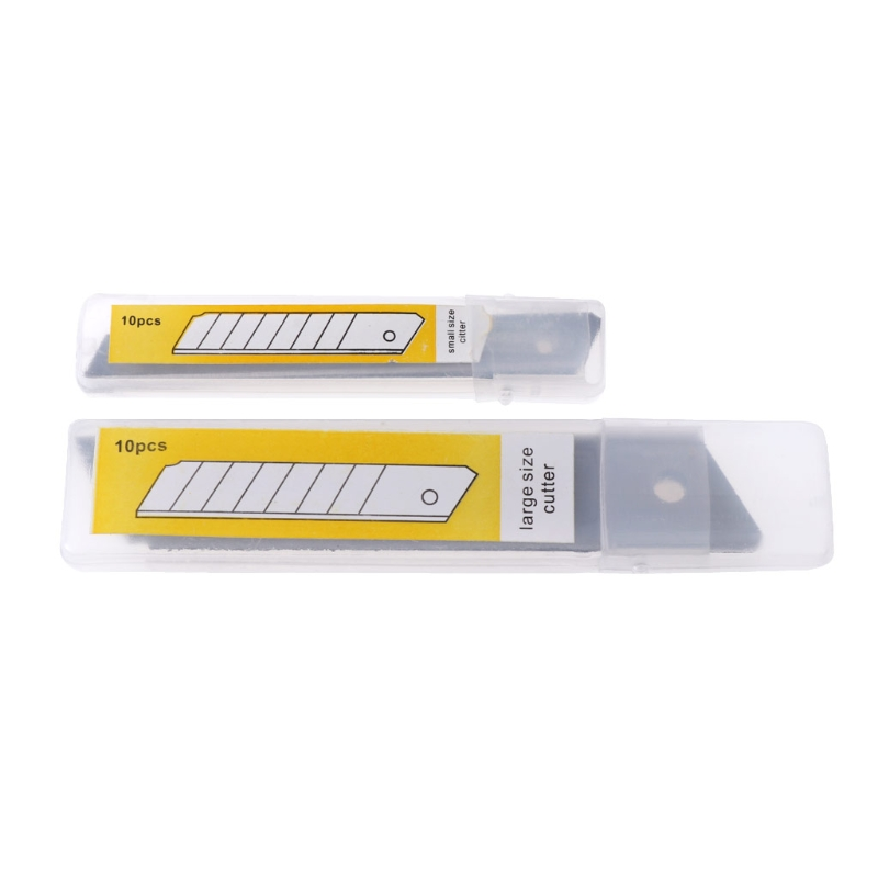 10 Pcs Boxcutter Snap Off Replacement Blades 9/18mm Ceramic Utility Knife Blades