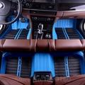 Custom car floor mats for Suzuki All Models Jimny Grand Vitara Kizashi Swift SX4 Wagon R Palette Stingray auto styling foot mats