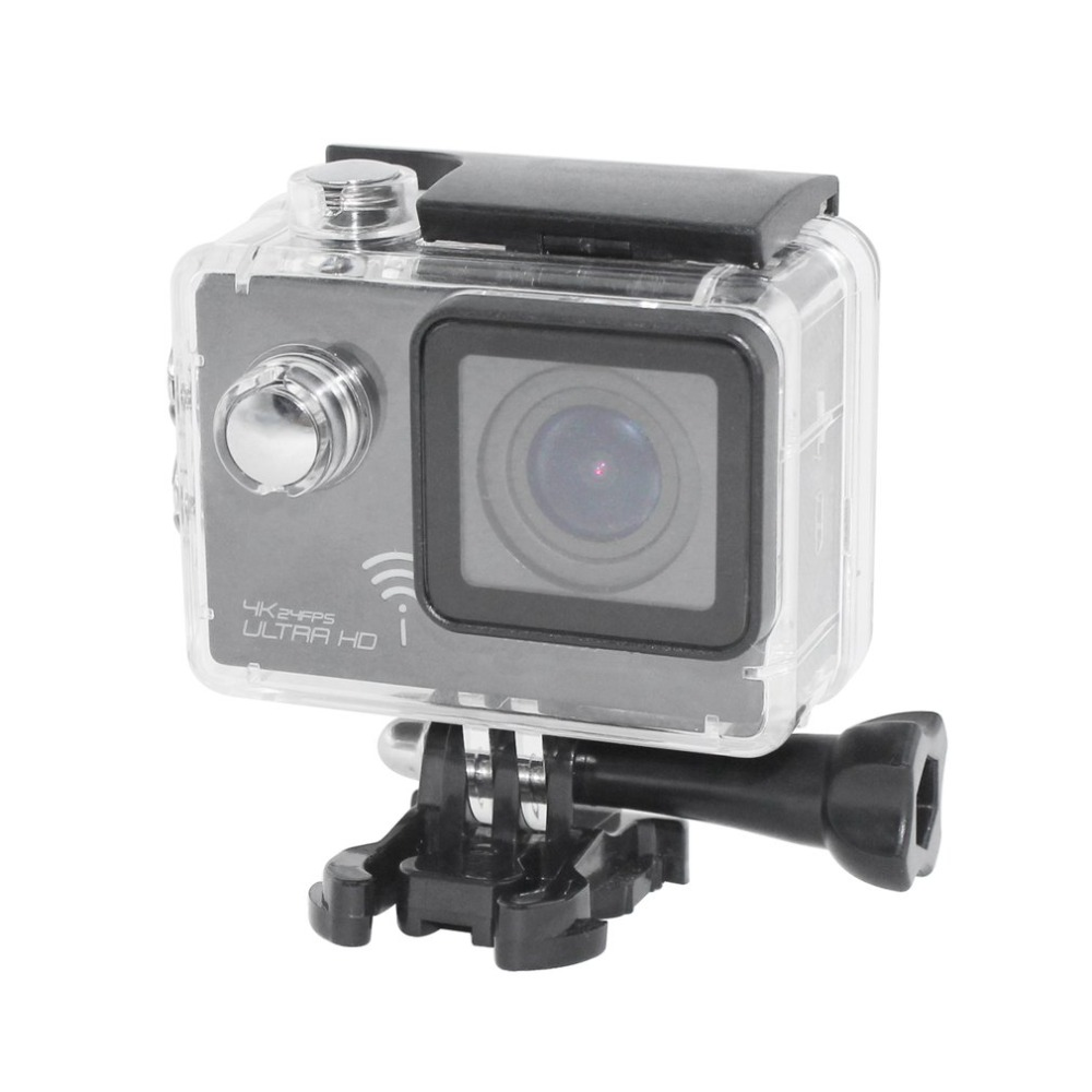 Professional 2.0 Inch Screen 170 Degree Wide Angle Action Camera Ultra HD 4K Waterproof WIFI Sport Camera