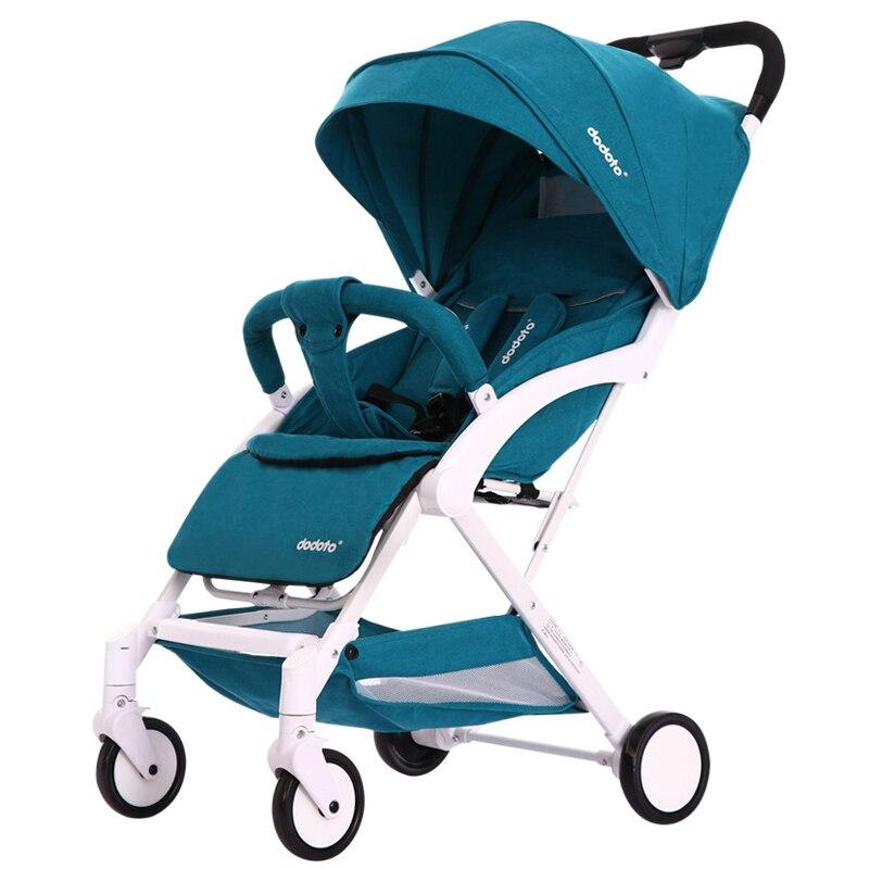 Carrozzina passeggino leggero Portatile di viaggio passeggino del bambino passeggino Può essere sul piano pieghevole carrozzina del bambino