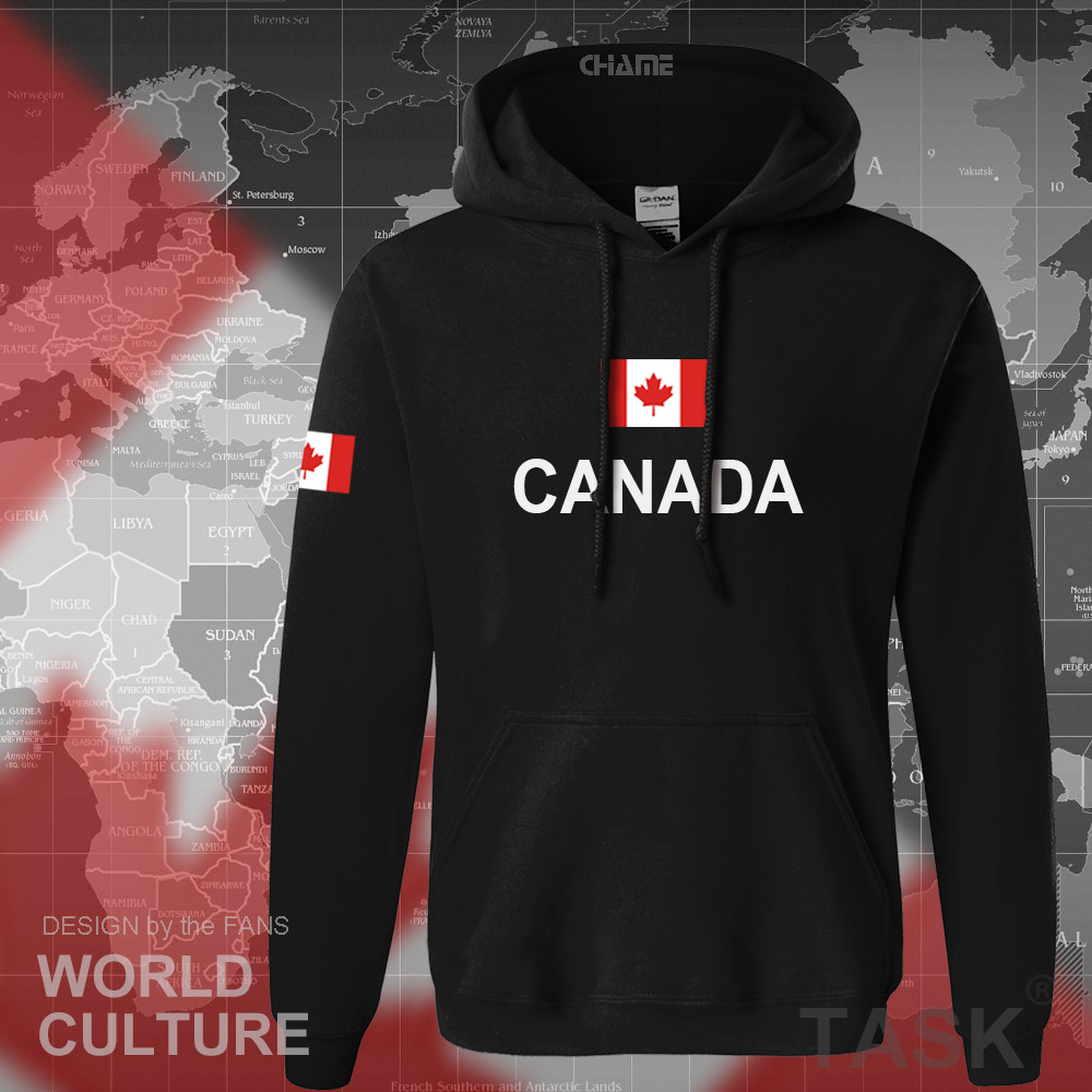 Canada 17 hoodies men sweatshirt sweat new streetwear clothing jerseys footballer tracksuit nation Canadians flag fleece CA 7