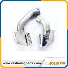 RASTP Оригинал Нержавеющей Стали Выхлопной Трубы Глушитель Для BMW X5 E70 LS-CR8099