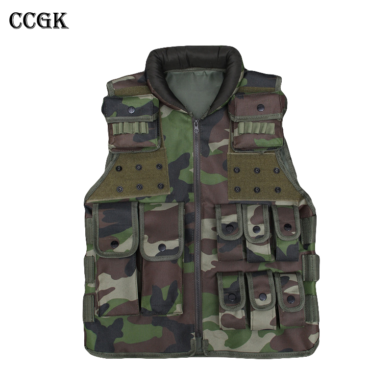 Military Tactical Vest High Quality Multi-Pocket MELLO Tactical combat training Vest Outdoor CS Paintball Security Equipment