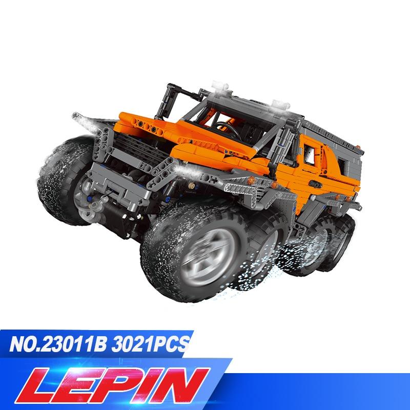 DHL LEPIN 23011/23011B 2816 pz Technic Serie Off-road Modello di veicolo Corredi di Costruzione di Blocchi di Mattoni Compatibile legoed 5360