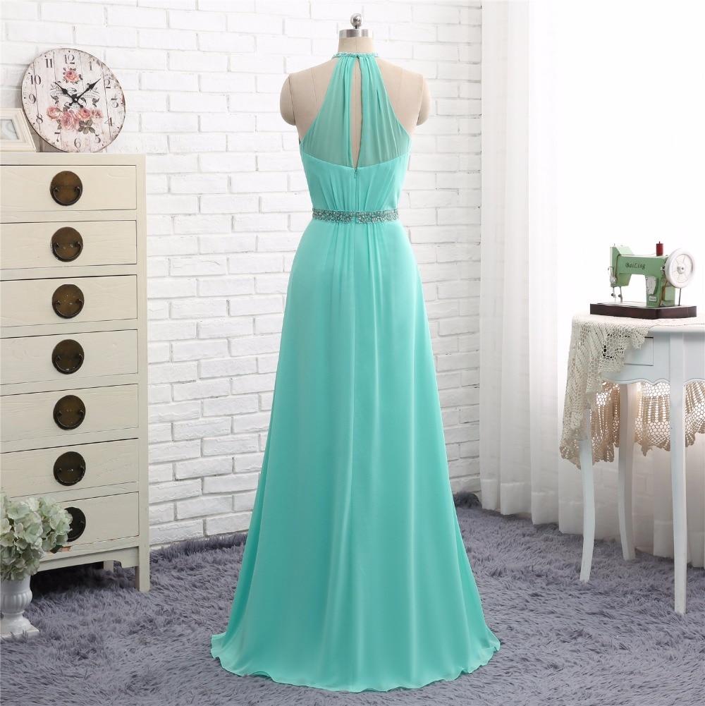 2c38f90e € 118.5 |Nuevo 2018 Sexy vestidos largos de dama de honor para boda  Sweetheart Zip Back Formal vestidos de fiesta de graduación 2017 Vestido ...