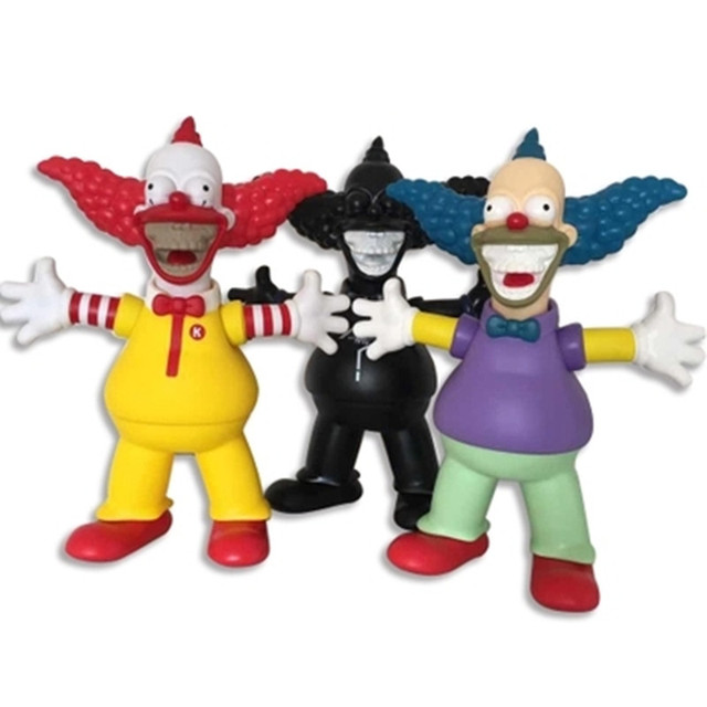 US $53 31 22% OFF|2018 new The Simpsons Clown Small black kaws For  Collectors Action Figure Fashion Toy Ornaments 30cm AG531-in Action & Toy  Figures