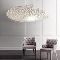 Nordic creative ceiling lamp hotel studio coffee house villa shake sound net red wall wall lamp