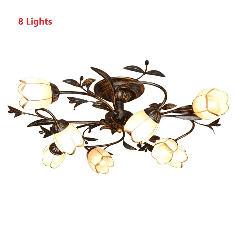 American Country Retro Ceiling Light For Home Decor Nordic