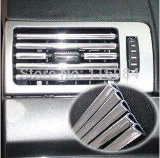 1 м x 6 мм хромированной отделкой полоса бампер, устанавливаемое на вентиляционное отверстие в салоне автомобиля переключатель на решетке RIM ...