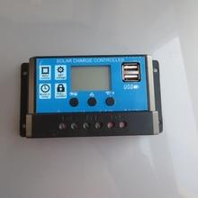 Controlador de Sistema 1 PC X 10A PWM Solar 12 V 24 USB Display LCD 5 Regulador Kits