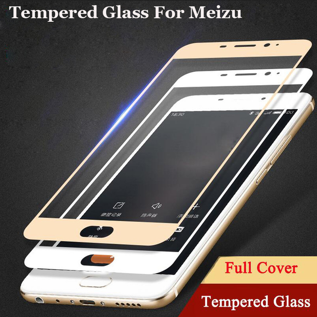 9H Full Cover Tempered Glass For Meizu M3S Mini M3 Note M5 M5S Note M5C U10 U20 Pro 6 7 Plus MX6 Screen Protector Toughened Film