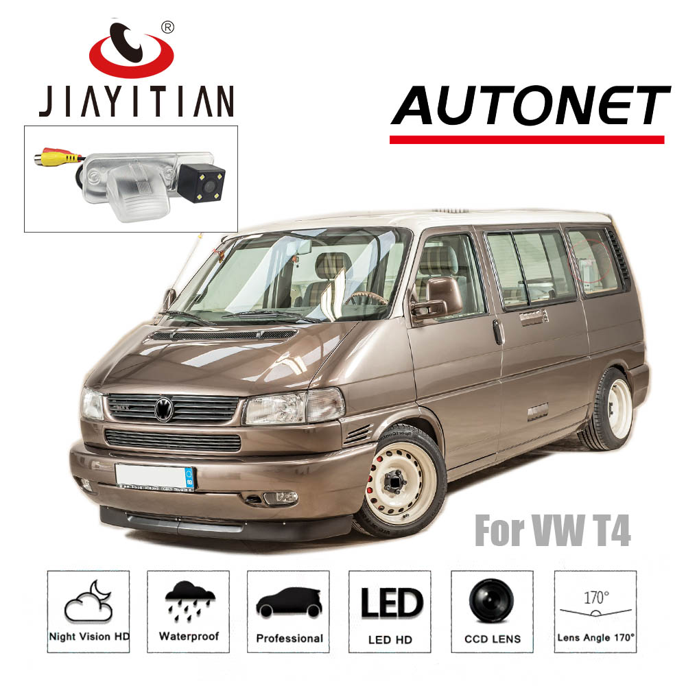 JiaYiTian rear camera For Volkswagen VW Eurovan Caravelle Transporter T4 CCD night version backup Camera license plate camera pai transporter t4 caravelle smoked red tail rear light lamp for vw left