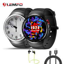 LEMFO LES1 Smartwatch Android Teléfono RAM 1 GB + 16 GB de apoyo clima Pulsómetro GPS reloj Inteligente para Android IOS teléfono