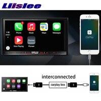 Liislee CarPlay Adapter Dongle Box USB link om Touchscreenbediening telefoon Auto Radio Stereo Door Head Unit Voor Veilig Rijden Controle