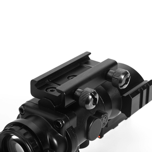 Image 5 - LUGER acog 4x32 Red Dot Riflescope Reflex Tactical Optics Sight Scope With 20mm Rail For Airsoft Guns Hunting Riflescope