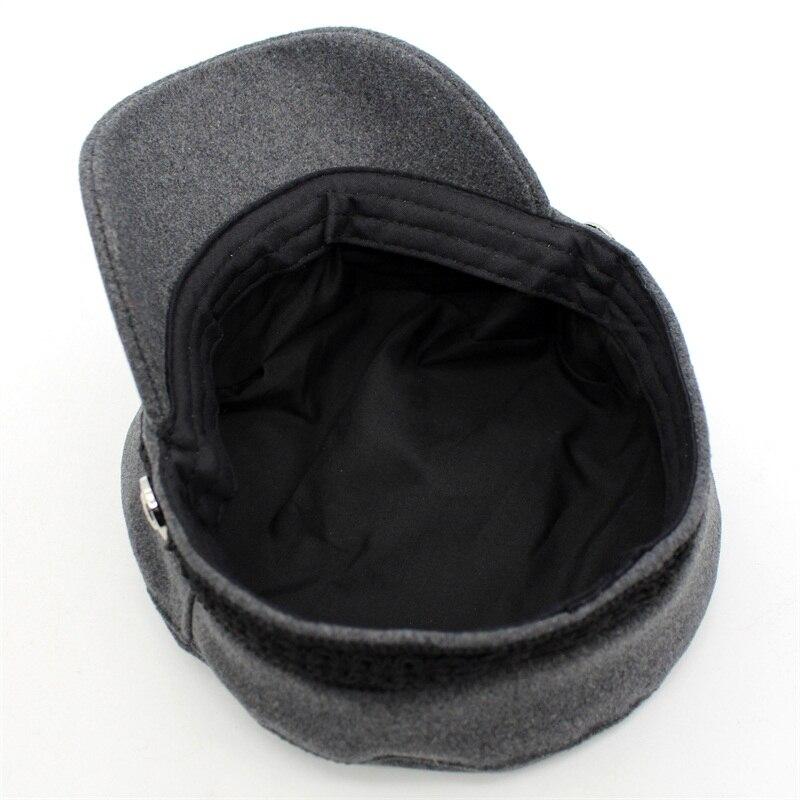Aliexpress.com  Comprar Ditpossible algodón lana sombreros militares ... 94f8355d141