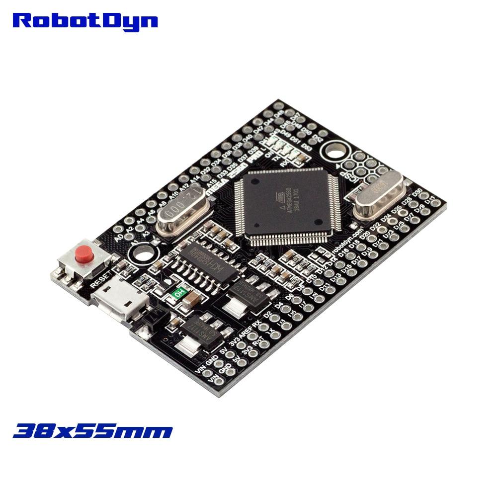 ¡Mega 2560 PRO (insertar) CH340G/ATmega2560-16AU NO pinheaders! Compatible con Arduino Mega 2560