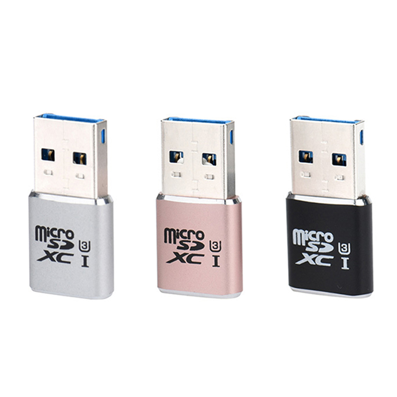 USB Micro SD Card Reader 5Gbps Super Speed USB 3.0 Micro SDXC  TF T-Flash Card Reader Adapter