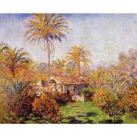 High quality Claude Monet modern art Small Country Farm in Bordighera Oil paintings reproduction hand painted