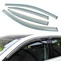 4 pçs/lote Estilo Do Carro Tampa Sol Guarda Chuva Janela Sombra Ventilação viseira Para Volkswagen VW Golf 7 2013 +-2015 Acessórios de Alta qualidade