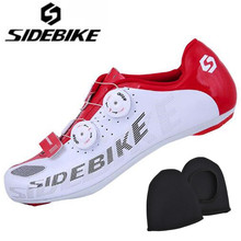 Sidebike Road Cycling Shoes Men Non-slip Breathable Bicycle Shoes Lightweight Self-Locking Bike Bicycle Shoes Sapato Ciclismo