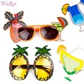 FENGRISE Hawaii Beach Flamingo Pineapple Sunglasses Goggles Bachelorette Hen Night Stag Party Favors Carnival Party Decoration