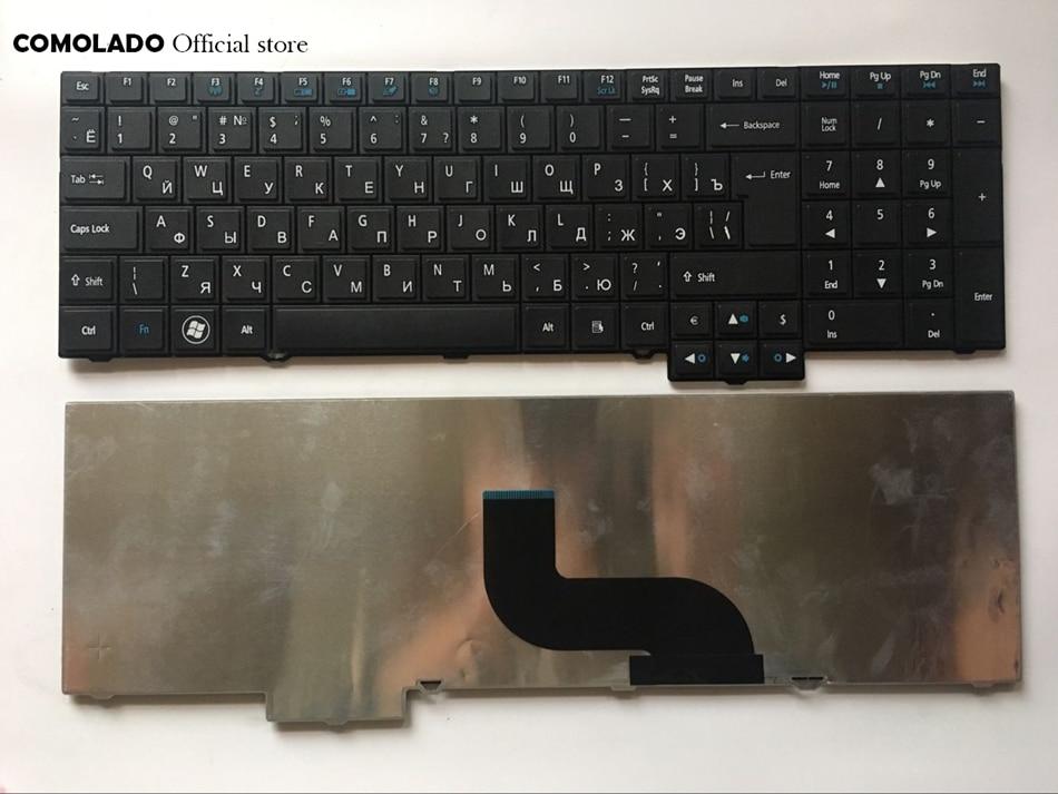 RU Russian For ACER TM5760 8573 TM6495T 7750 5760 6595 6495 TravelMate 5760 5760G 5760Z 5760ZG black Laptop Keyboard RU Layout