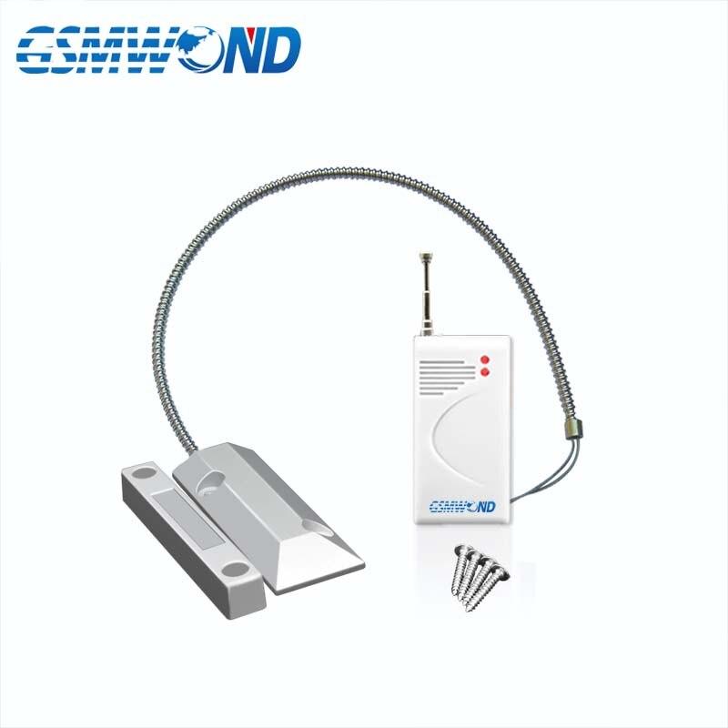 433MHz/315MHz Wireless Rolling Door Open Detector, Outdoor Metal Door Open Detector, Waterproof, For Wifi / GSM Alarm System