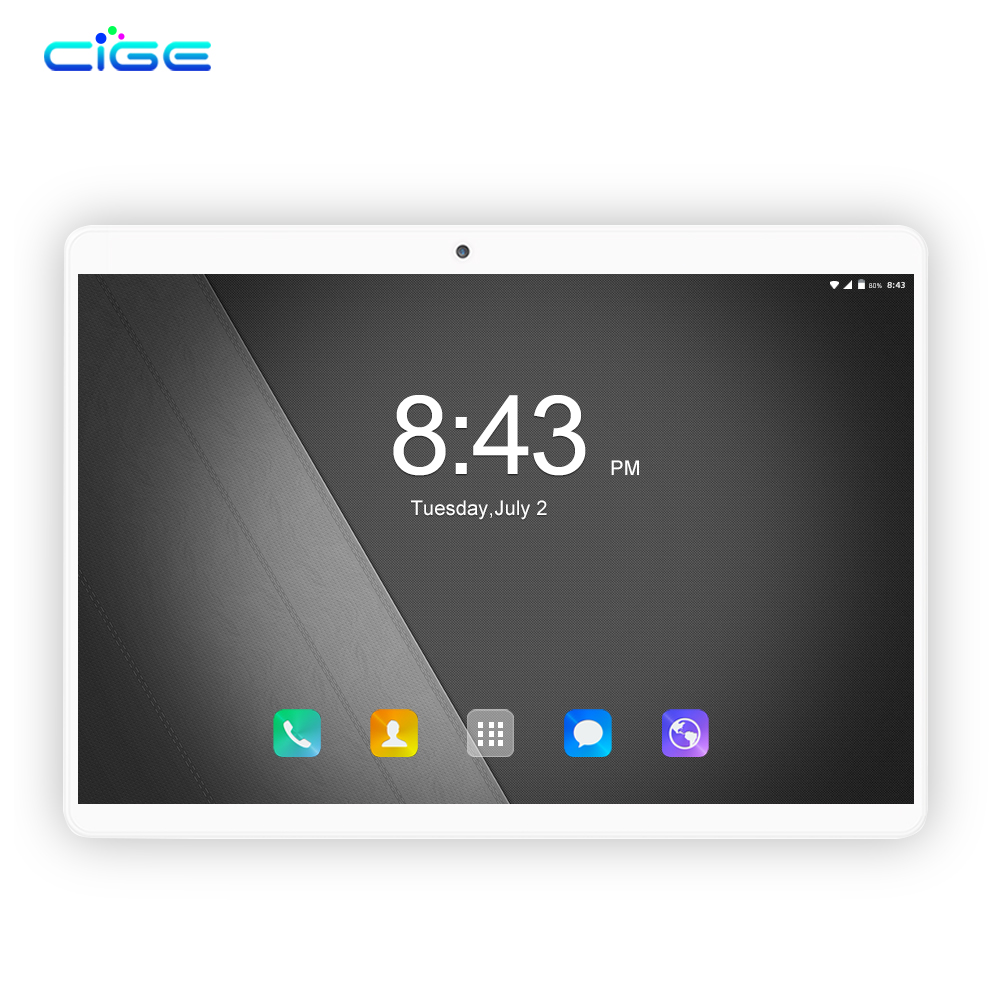 Tablets Octa-Core CIGE MTK8752 Dual-Camera 6GB-RAM Android 8.0 N9 64GB 1280--800