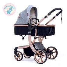 wingoffly baby stroller 2 in1 stroller four seasons Russia free shipping