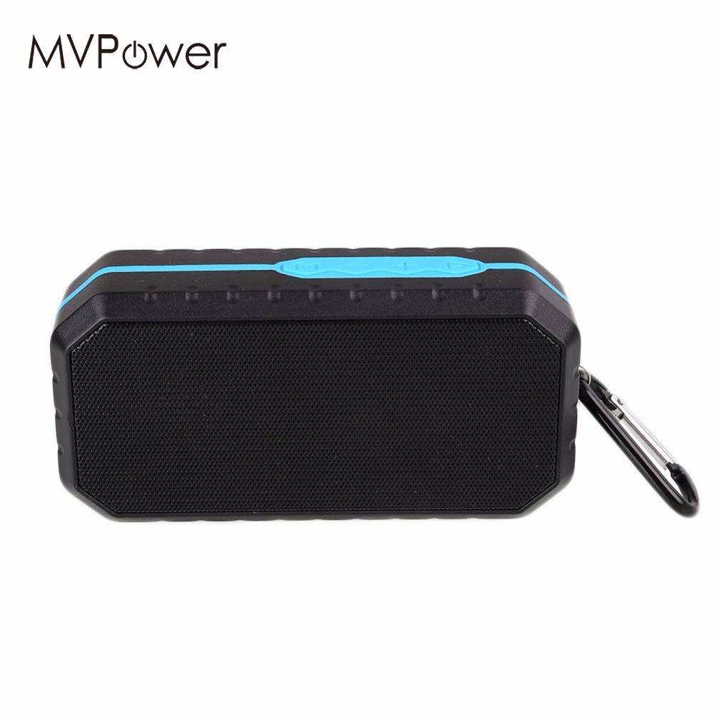 MVpowe Waterproof Outdoor Mini Wireless Bluetooth Speaker With Mic Support TF Card USB FM Radio Function Support U Disk
