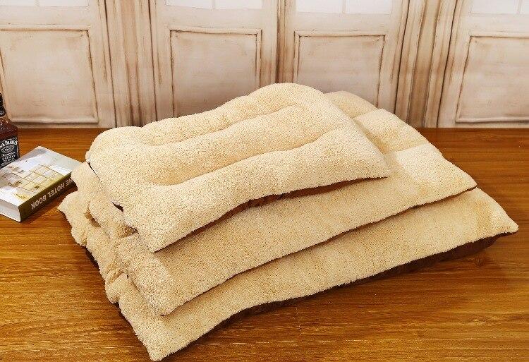 120*80 cm Big Size Large Dog Bed Cat Bed Super Soft Pet Dog Bed Cage Mat Pet Puppy Bed Washable Breathable Mat Dog Kennel