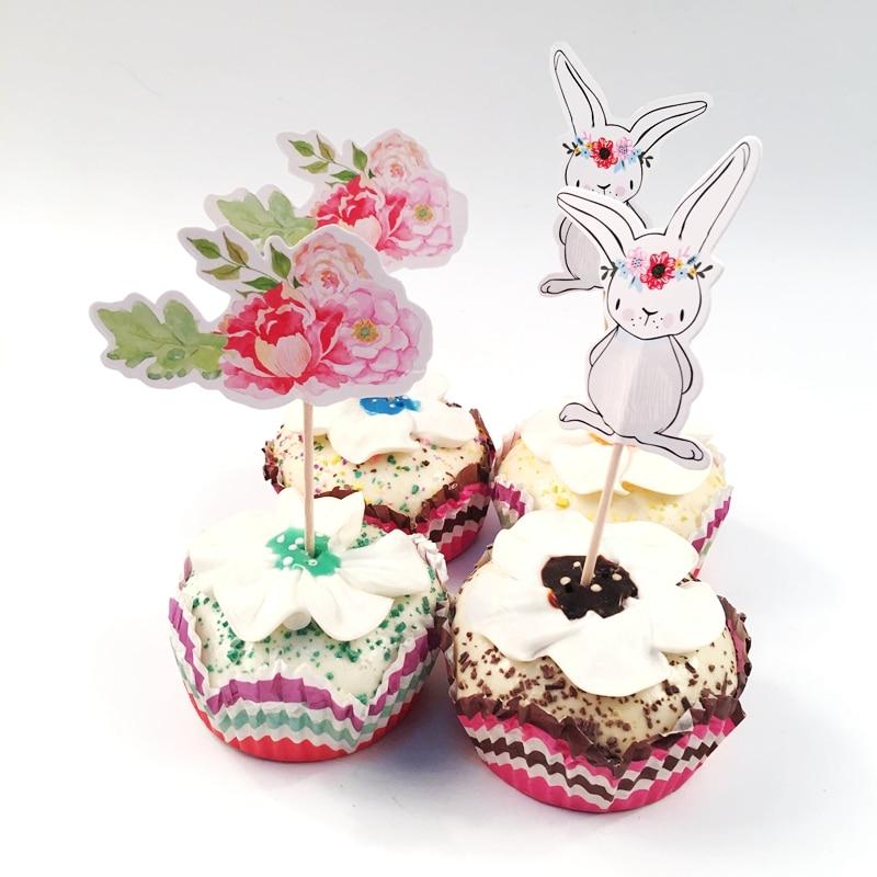 Rabbit Cake Decorations