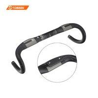 Toseek đường xe đạp tay cầm tape racing UD + 3 k carbon handlebar/đi xe đạp thanh siêu nhẹ 31.8*400/420/440 mét trọng lượng 180 +/-3 gam