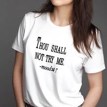 2QIMU Brand Summer T-shirt For Women 100% Cotton Funny Print Casual Top Tees Fashion Famale Streetwear  Short Sleeve T-Shirt