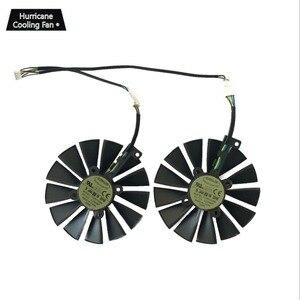 Image 4 - 95MM T129215SM 4Pin 12V Graphics Card Fan for ASUS STRIX GTX 1050 1050Ti 1070Ti 1080Ti RX 470 570 580 RX470 RX570 RX580 Cooler